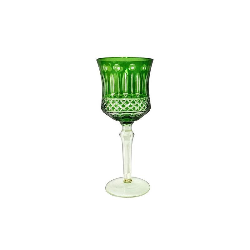 Taça Vidro Vinho Tinto 330Ml Verde-L´hermitage 7522685