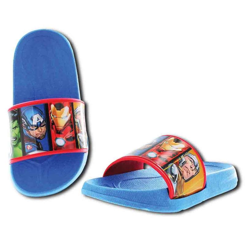 Sandalia Azul Avengers T02434