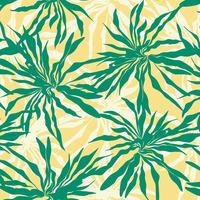 Tecido impermeável Acqua Soleil floral splash verde turquesa