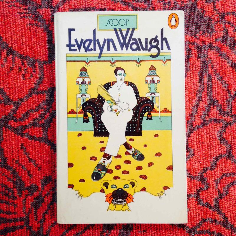 Evelyn Waugh.  SCOOP.