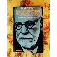 Ernest Jones (editor).  THE LIFE AND WORK OF SIGMUND FREUD.