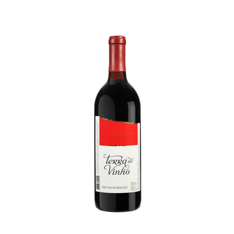 Vinho Tinto Seco Izabel/Bordô 720ml - Adega Terra do Vinho