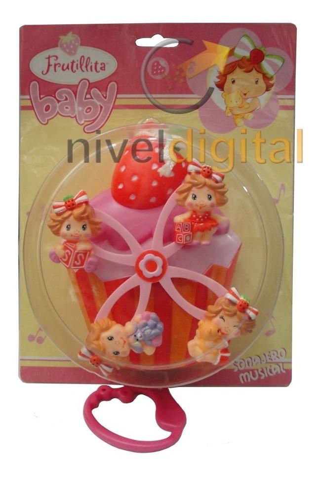 Cunero Musical A Cuerda Mickey Mouse Princesas Frutillita