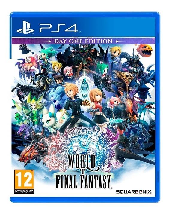 World Of Final Fantasy Day One Ps4 Fisico Sellado Original