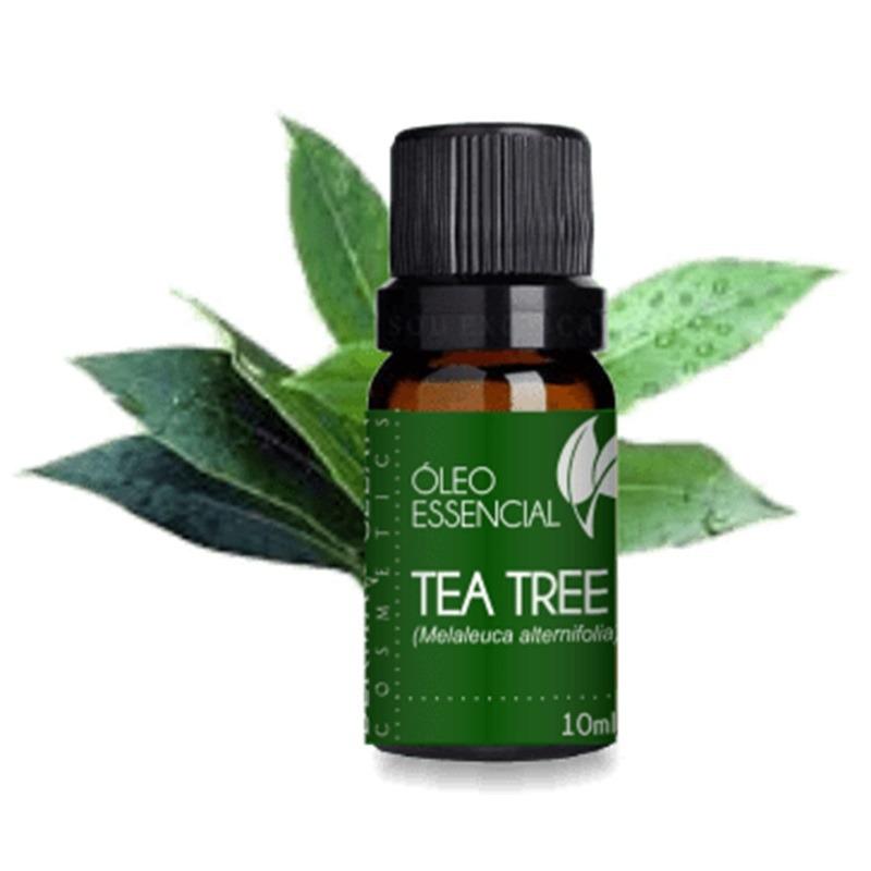Oleo Essencial de Tea Tree (Melaleuca) - 10ml - DermaClean