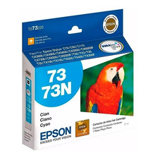 Cartucho Epson 73 73n Cian Original P/ Cx5600 Tx115 Tx220