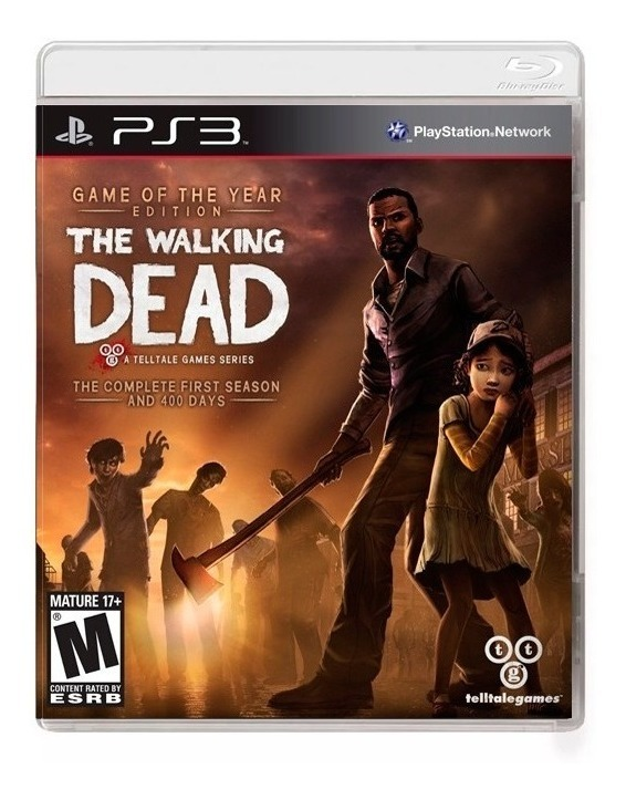 The Walking Dead Telltale Goty Ps3 Fisico Sellado Original