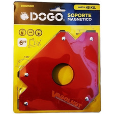 Escuadra Dogo Magnetica 6   Herrero Soldador Max 45kg Grande