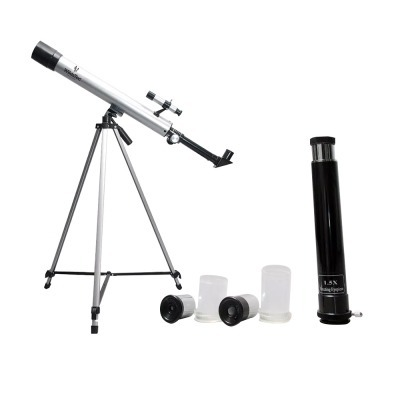 Telescopio 600x50 Distancia Focal 600 Mm 3 Lentes Wildstec