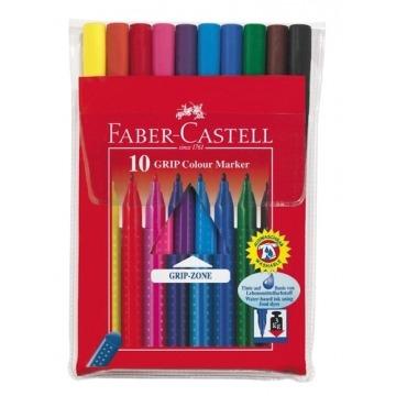 FIBRAS DE COLORES FABER-CASTELL x10