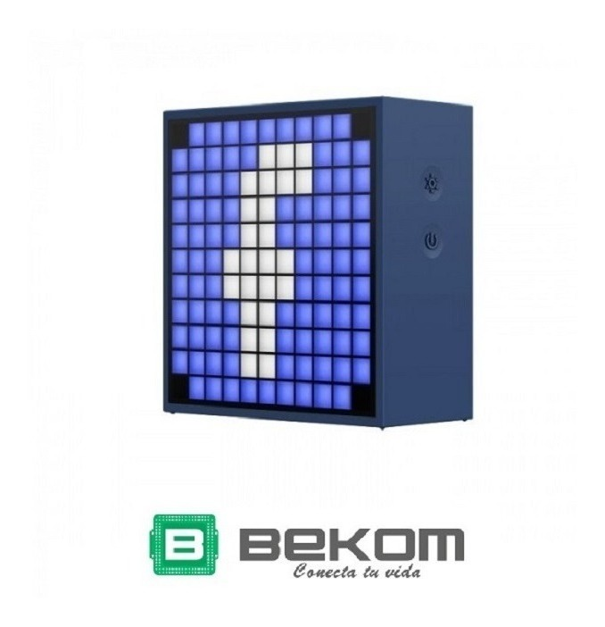Parlante Bluetooth Divoom Timebox Mini Reloj Alarma Oferta