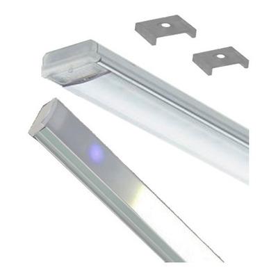 Perfil 1 M Led Tactil Dimer Aluminio Cocina Alacena Vestidor
