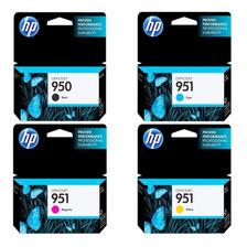 Cartuchos Hp 950 Negro + 951 Colores Combo Originales 8100 8600 8610 Pro Original
