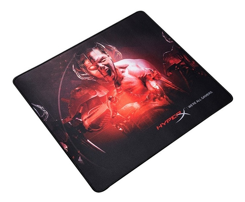 Mousepad Gamer Hyperx Fury We re All Gamers Edition Mouse Pad Large L Borde Tejido Gtia Oficial