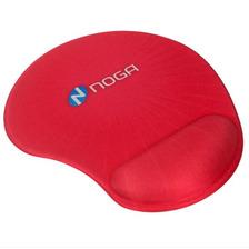 Mouse Pad Antideslizante Apoya Muñecas Con Gel Noga