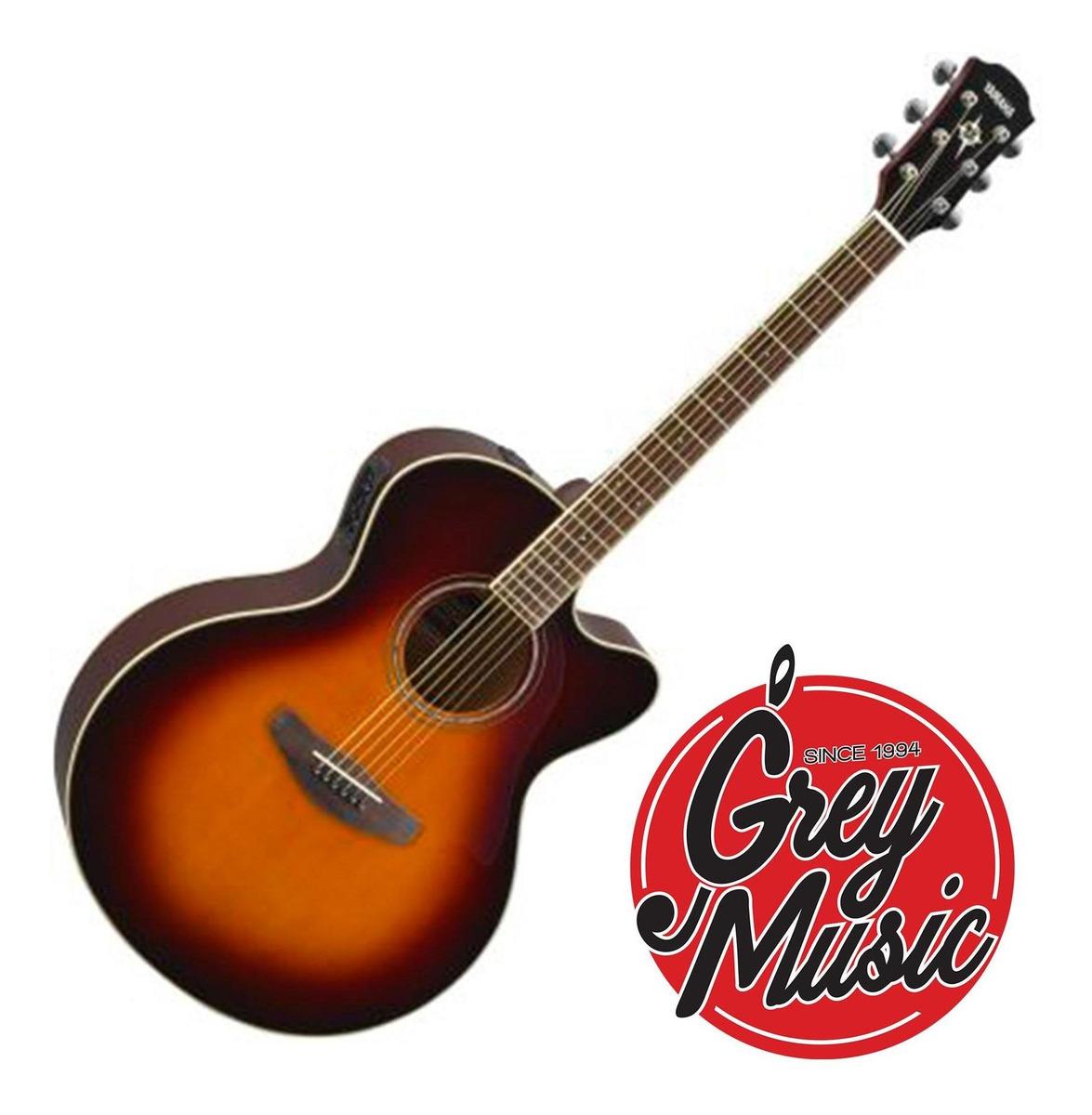 Guitarra Electroacústica Yamaha Cpx600-ov Color Sunburst