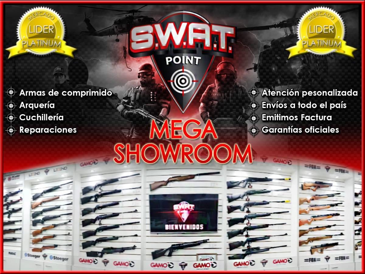 Baqueta Lubrilina 3 Tramos Rifle De Aire Comprimido Co2 Swat