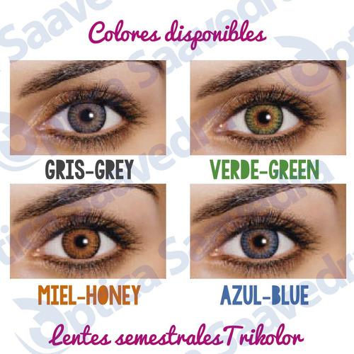 b29031de6b27b comprar Lentes De Contacto De Color Tricolor Optica Saavedra 6 Meses ...