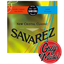 Encordado Guitarra Savarez 540 Crj Normal Alta New Cristal
