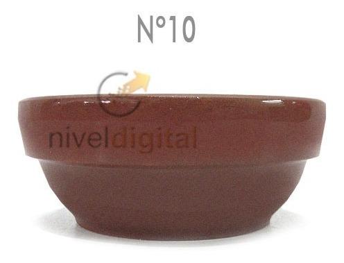 4 Cazuela Terracota Esmaltada Apilable 10 Linea Gastronomica