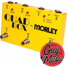 Pedal Morley Quad Box Loop Corrector - Grey Music -