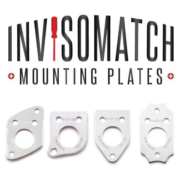 Placa Invisomatch Montaje Clavijas Ratio Prt-952-214-g0 Grey