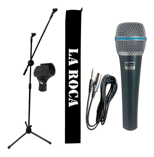 Polai Micr/ófono Karaoke Ni/ños con Pie