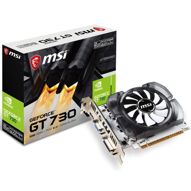 Tarjeta de Video MSI NVIDIA GeForce GT 730, 2GB 128-bit GDDR3