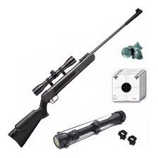 Rifle Aire Comprimido Lb600 Castor Black + Mira Zoom Balines