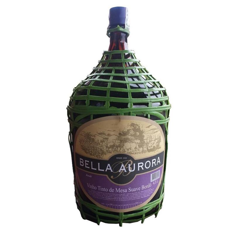 Vinho Tinto Suave Bordô 4,5 L - Bella Aurora