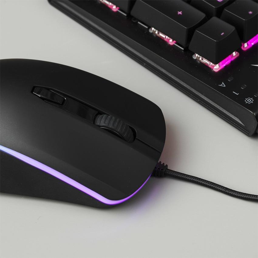 Mouse Gamer Hyperx Pulsefire Surge Rgb 16000dpi Led Rgb Ambidiestro Gtia Oficial