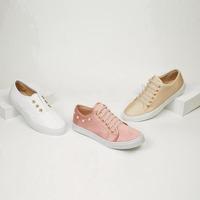 Sneakers multicolor con brillo 016556