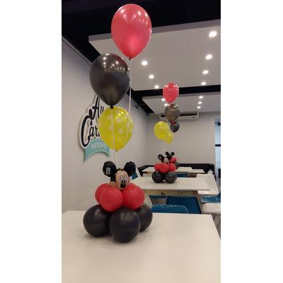 Arco de globo centros de mesa decoracion con globos for Decoracion con globos precios