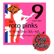 Encordado Rotosound R9 Roto Pinks P/ Guitarra Elèctrica