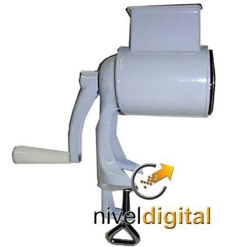 Maquina Rallar Queso Nueces Manual Metalico Carol En Caja