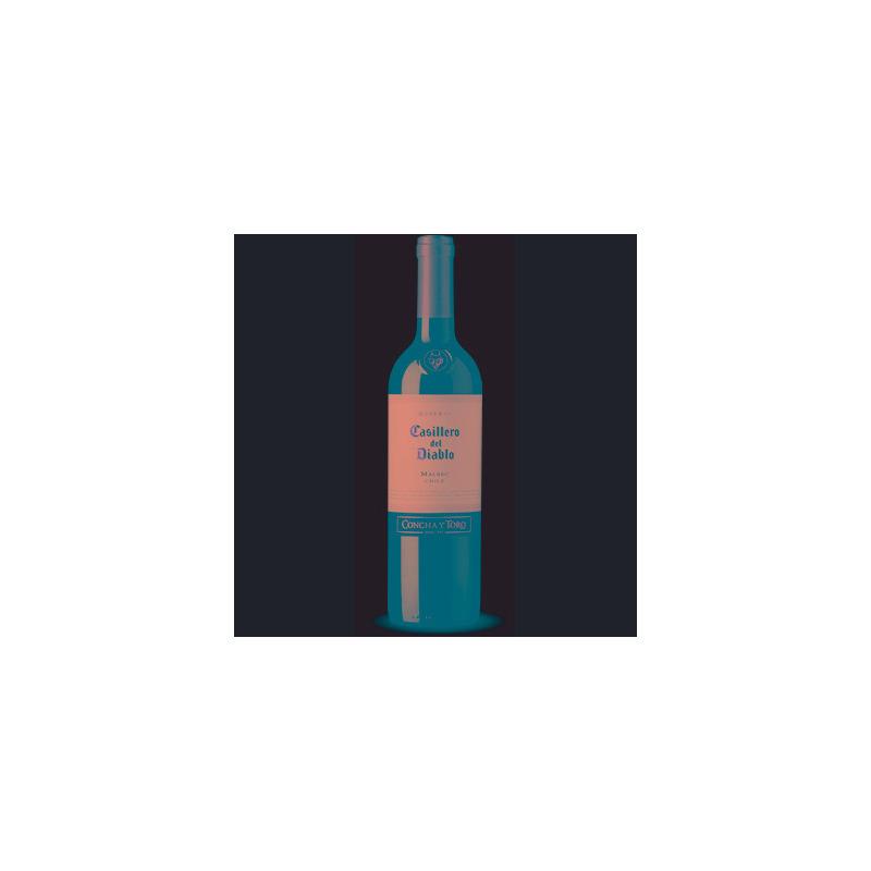 Vinho Fino Malbec Casillero Del Diablo 750ml - Concha y Toro