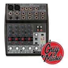 Mixer Consola Behringer Xenyx 802 Mixer 2 Mono +4 Stereo