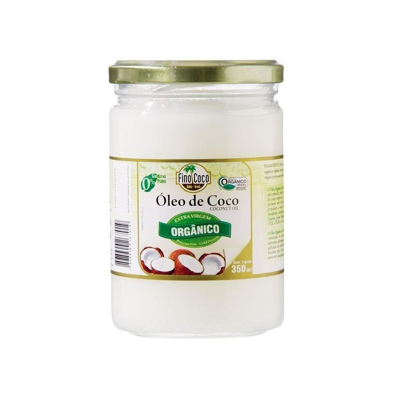 Oleo de Coco Extra Virgem Organico - 350ml - Finococo
