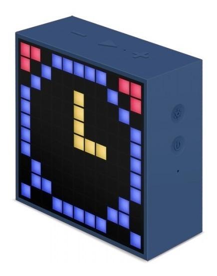 Parlante Portatil Bluetooth Timebox Grande Radio Divoom Led