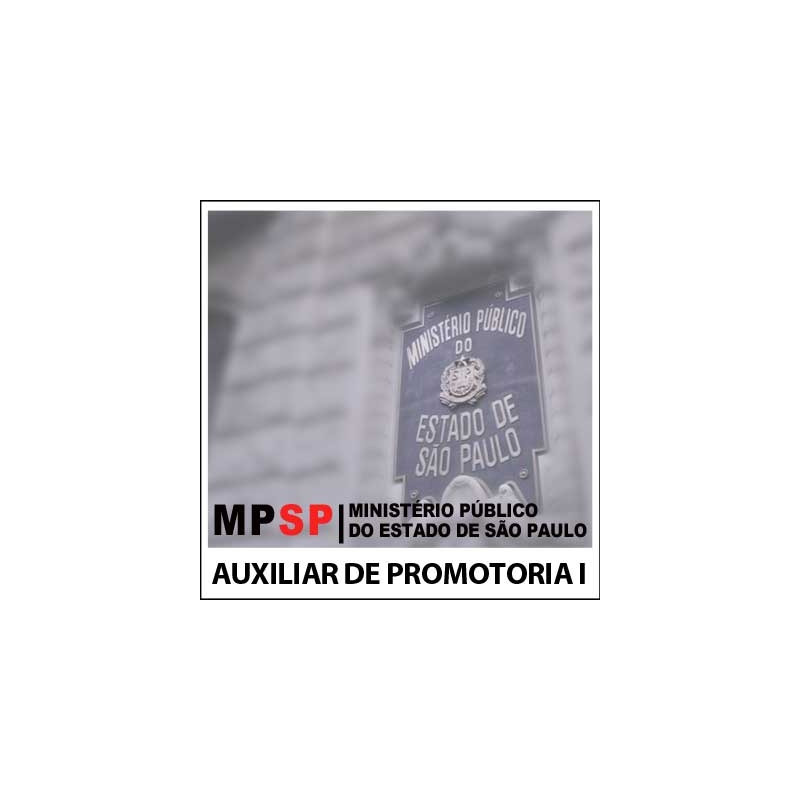 Auxiliar de Promotoria I AA MP SP 2018 - Matemática
