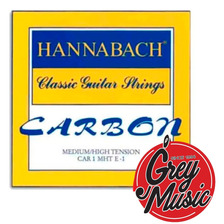 Cuerda Suelta Hannabach Carbon Mhte1 1 2 3 Sueltas Carbon