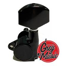 Clavijero Gotoh G1002bk De Paleta Grande Negro 3+3