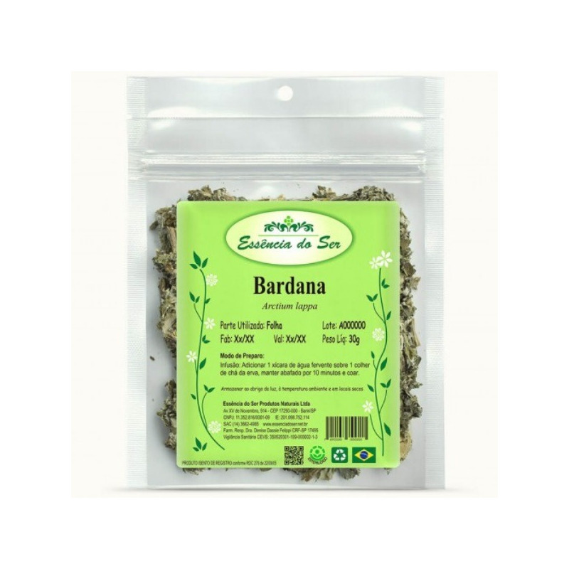 Cha de Bardana - Kit 3 x 30g - Essencia do Ser