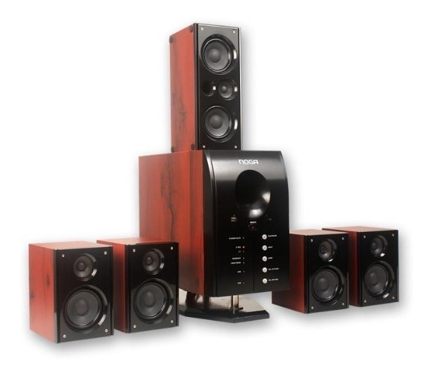 Home Theater 5.1 100w Bluetooth + Envío Gratis! Hts-45