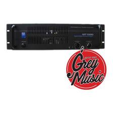 Potencia Zkx Mt1000 1000w.rms Garantía - Grey Music- Envios