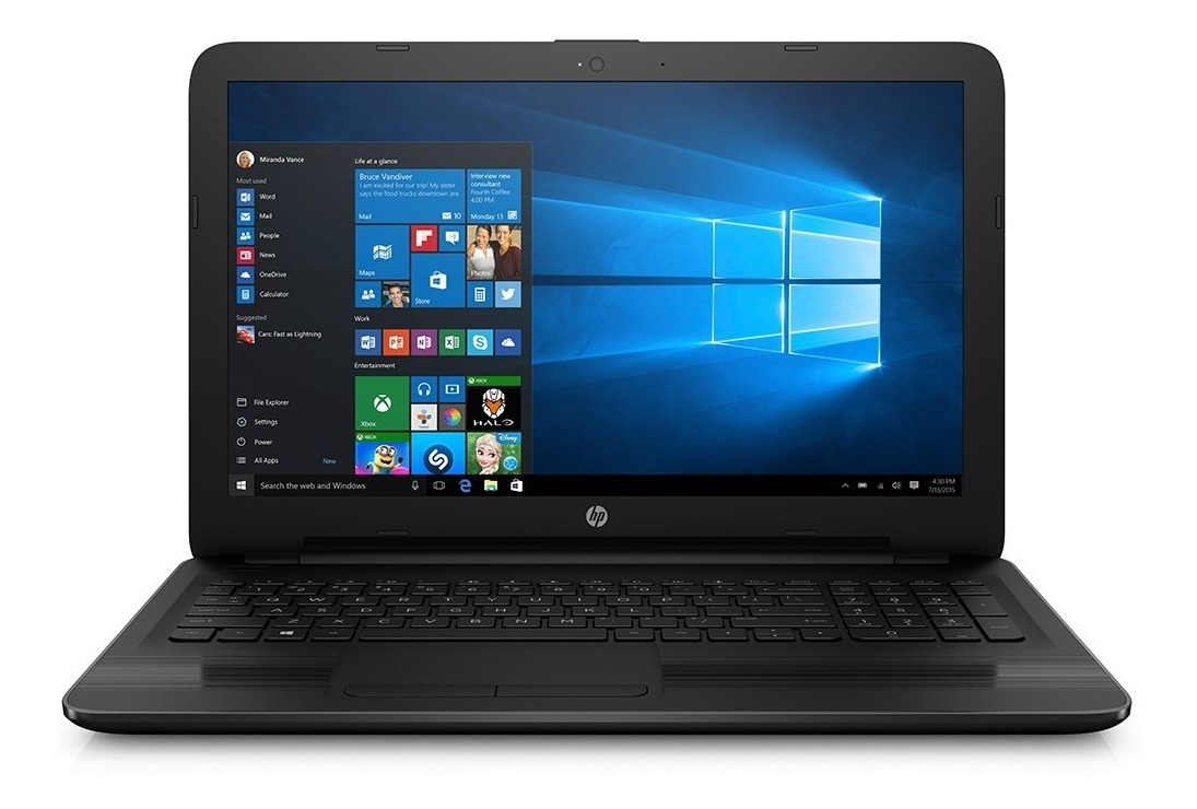 Notebook 15 6 Hp 15-ay026la Celeron N3060 4gb 500gb Windows