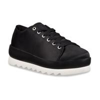 Sneakers K-Swiss plataforma negros K9F180
