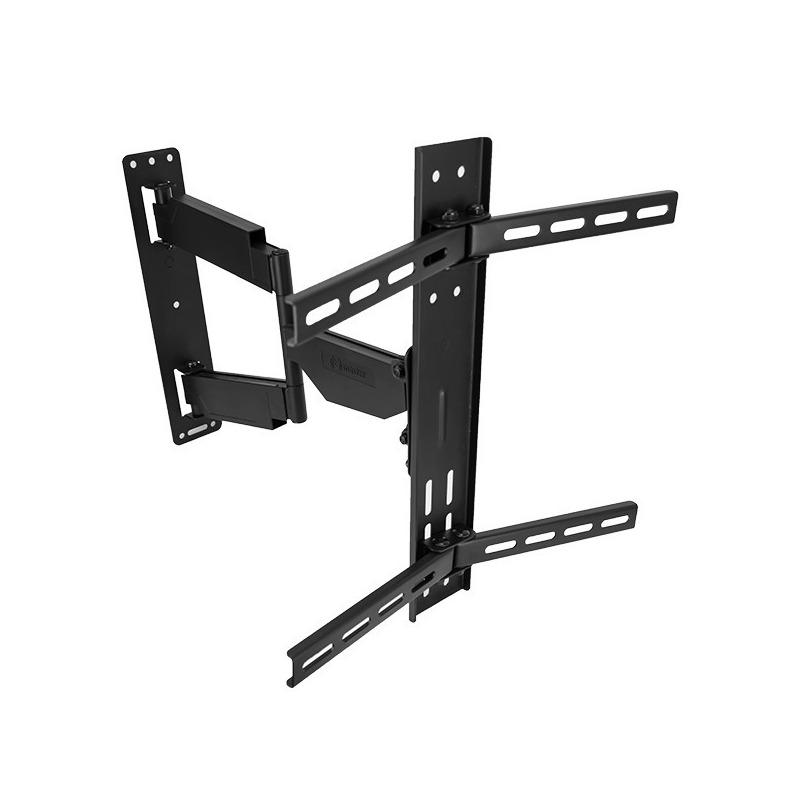 Soporte para pantallas curvas y planas, soporta hasta 35 kg y giro de 180°