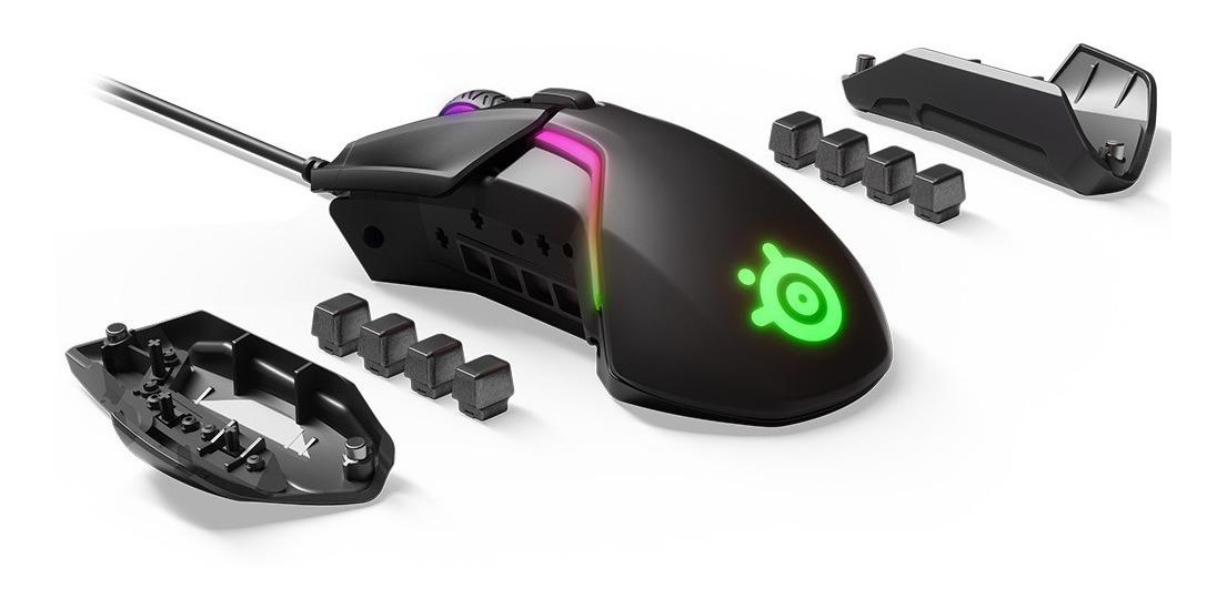 Mouse Gamer Steelseries Rival 600 Rgb 12000dpi Doble Sensor