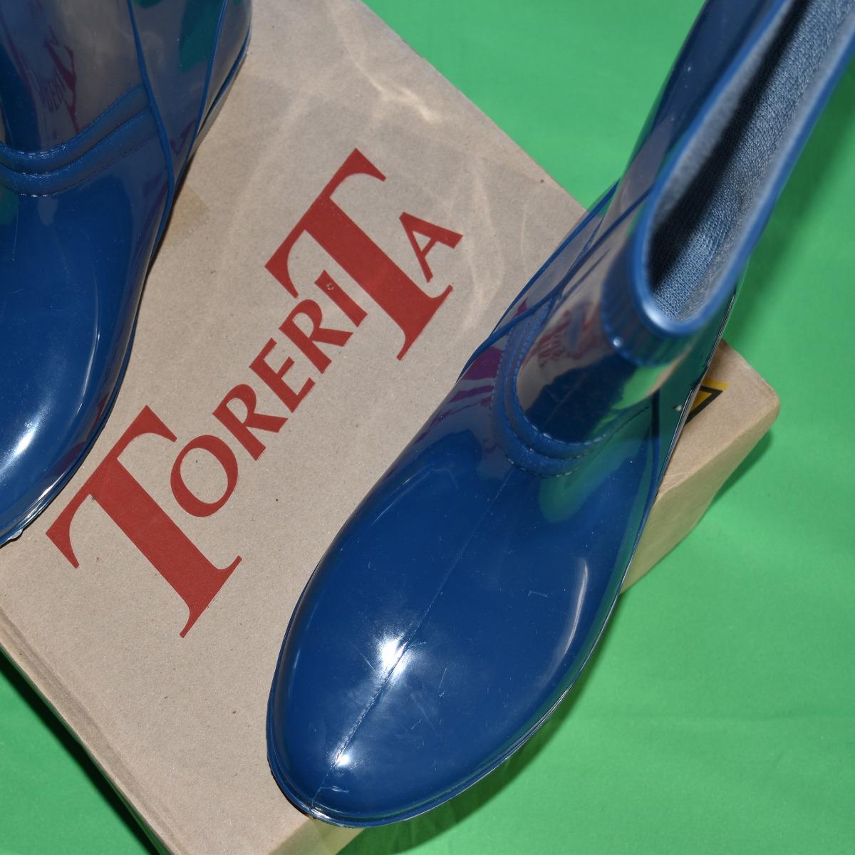c734cdf14 Botas impermeables dama Torerita caña media goma y plástico